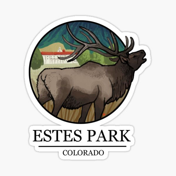 Estes Park Sticker