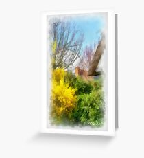 Spring - Edegem Greeting Card
