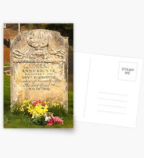 The Grave Of Anne Bronte Postcards