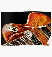 Guitar Icon : '59 Flametop Les Paul / HDR Poster