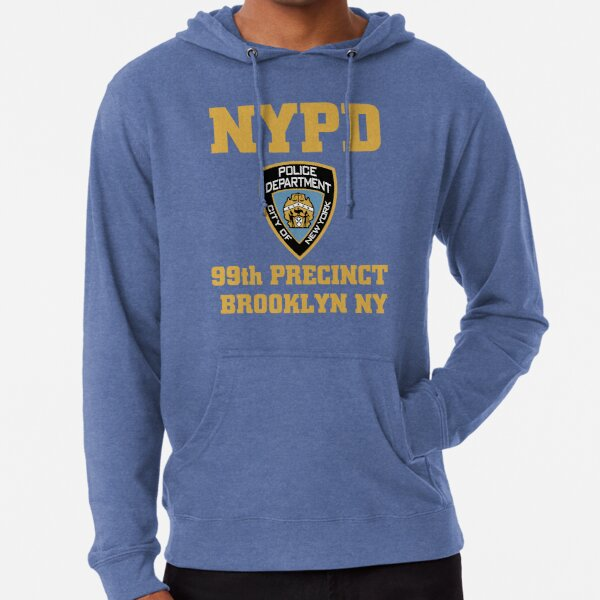 NYPD - Police Department City of New york - 99th Precinct Brooklyn NY Lightweight Hoodie