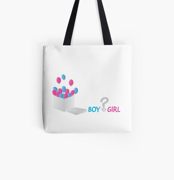 Keeper Of The Gender Baby Shower Gift Custom Quote Tote Bag Large Canvas Tote Bag Gender Reveal
