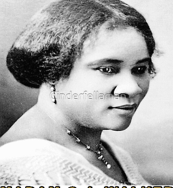 Madam C. J. Walker Is The First Black American Woman  Millionaire During Slavery by Cinderfellaman