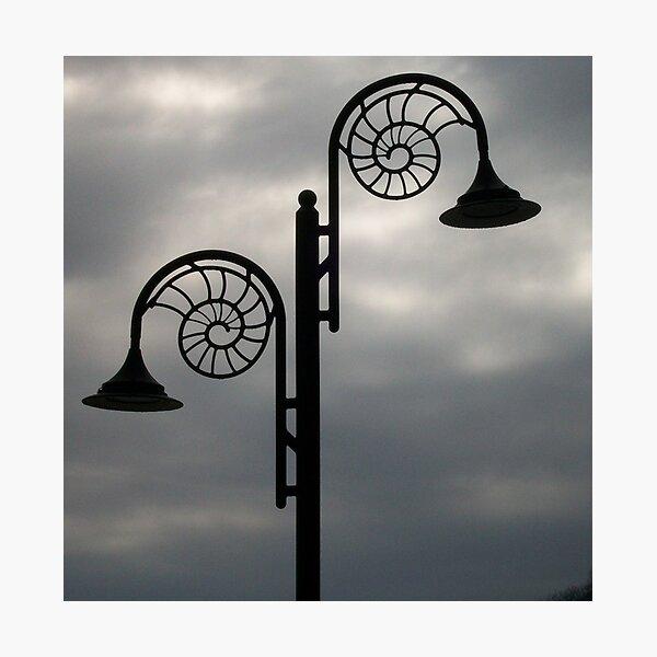 Light Silhouette Photographic Print