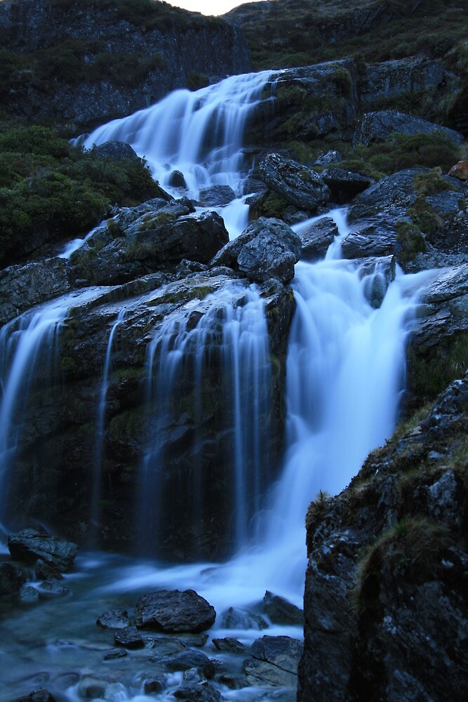 Routeburn Falls by middleofaplace