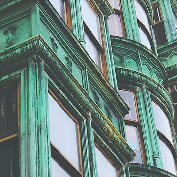 San Francisco Sentinel Building Patina by CityMystic