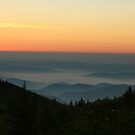 Sunrise in Pisgah by middleofaplace