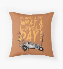 Mad Max Throw Pillow