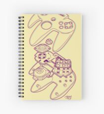 Blueprint 64 (3-D) Spiral Notebook