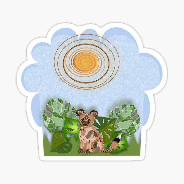 AFRICAN WILD DOG 247. Sticker