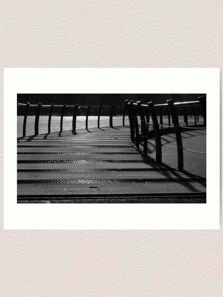Alternate view of Floating Bridge 3 Art Print
