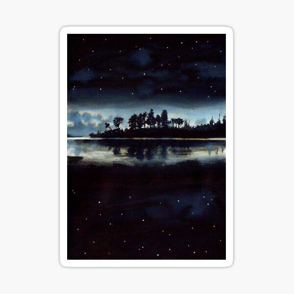 Sur le lac Sticker