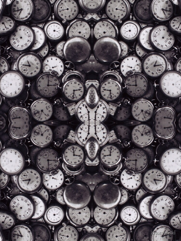 Monochrome old, antique, time, clock, pattern, abstract, dirty, design by znamenski