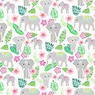«Elefantes de la jungla» de Tangerine-Tane