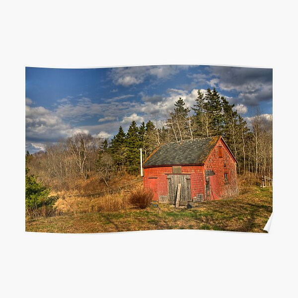 Lil' Red Barn  Poster
