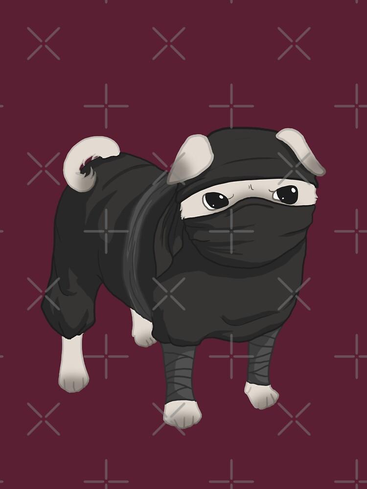 Ninja Pug | Unisex T-Shirt