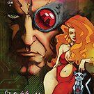TechnoFreak #1 cover art by SundayLunch