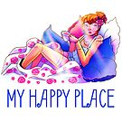 My Happy Place by evocaitart