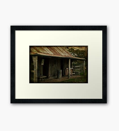 The Shelter Framed Print