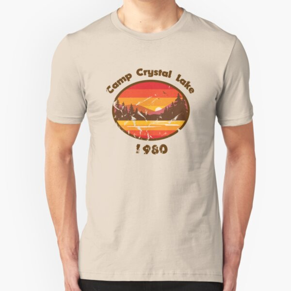 Camp Crystal Lake - Friday 13th Slim Fit T-Shirt