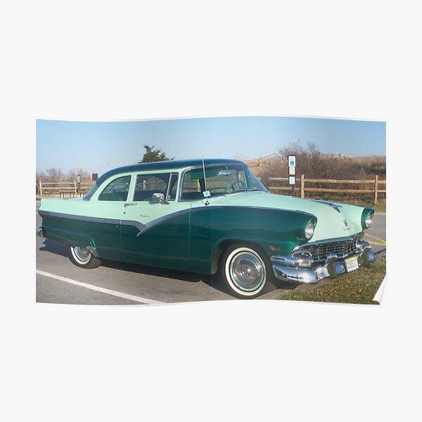 1956 56 Ford Coche Luz Trasera Lente Juego Fomoco Ford Texto Nuevo