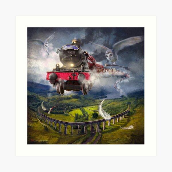 """""""The Glenfinnan Express"""" Art Print"""