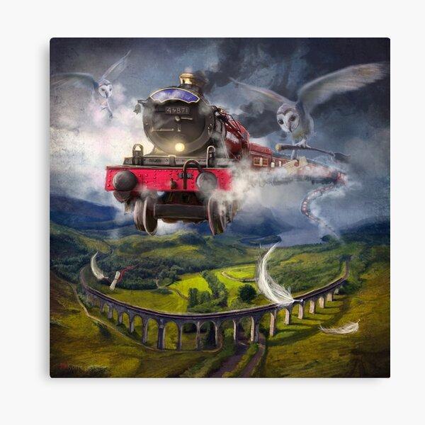"""""""The Glenfinnan Express"""" Canvas Print"""