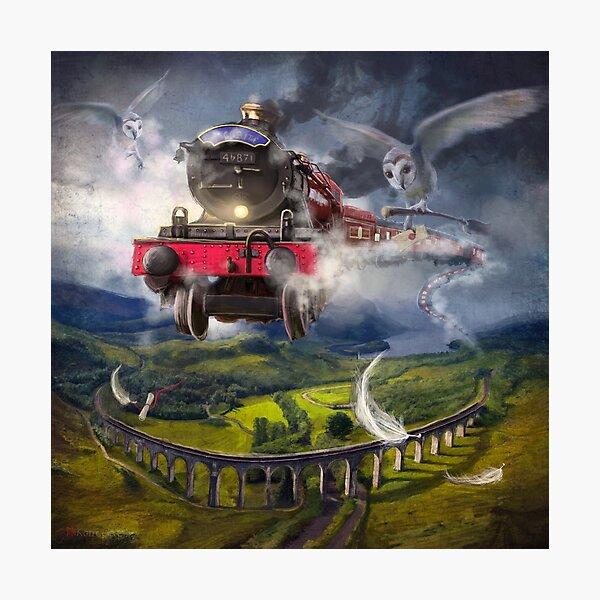"""The Glenfinnan Express"" Photographic Print"