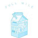 Blaue Milch - Milchkarton Ästhetik von ourtinyinfinite