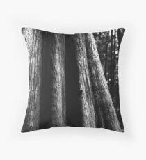 Cypress Textures Throw Pillow