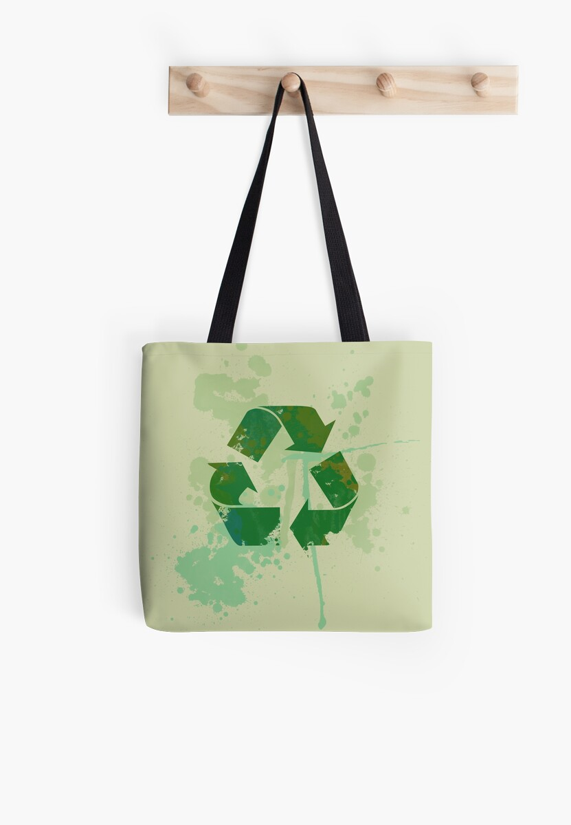 Reduce reuse recycle be green by BubbSnugg LC