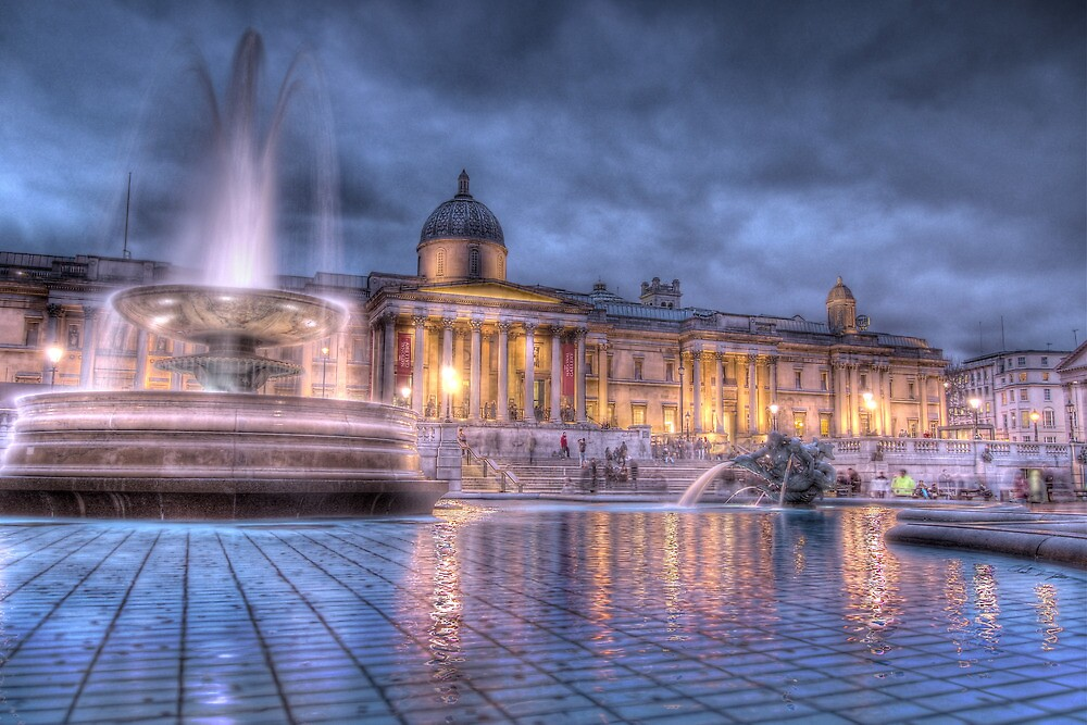 Trafalgar Square, London by Chad Kruger