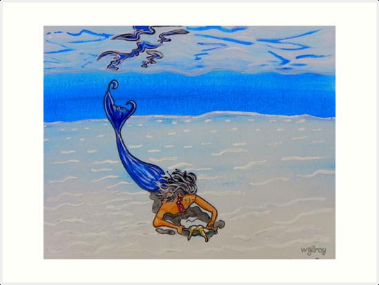 Mermaid Art … m14  by whiteygilroy