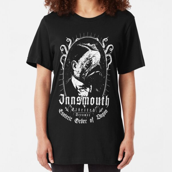 Innsmouth - Esoteric Order of Dagon - Eldritch Dreamer - Lovecraftian mythos wear Slim Fit T-Shirt
