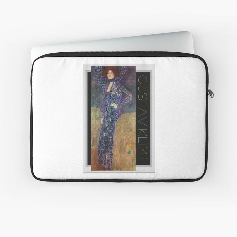 Art Nouveau Jugendstil by Gustav Klimt Laptop Sleeve