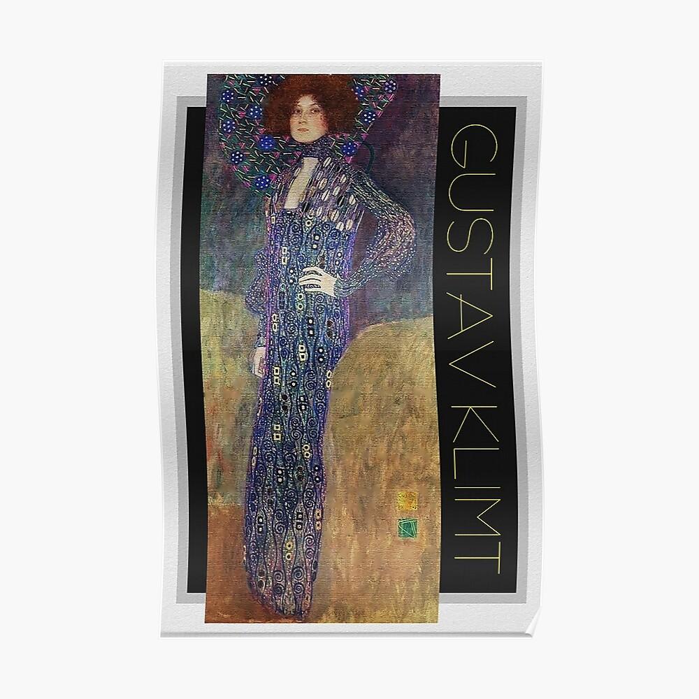 Art Nouveau Jugendstil by Gustav Klimt Poster