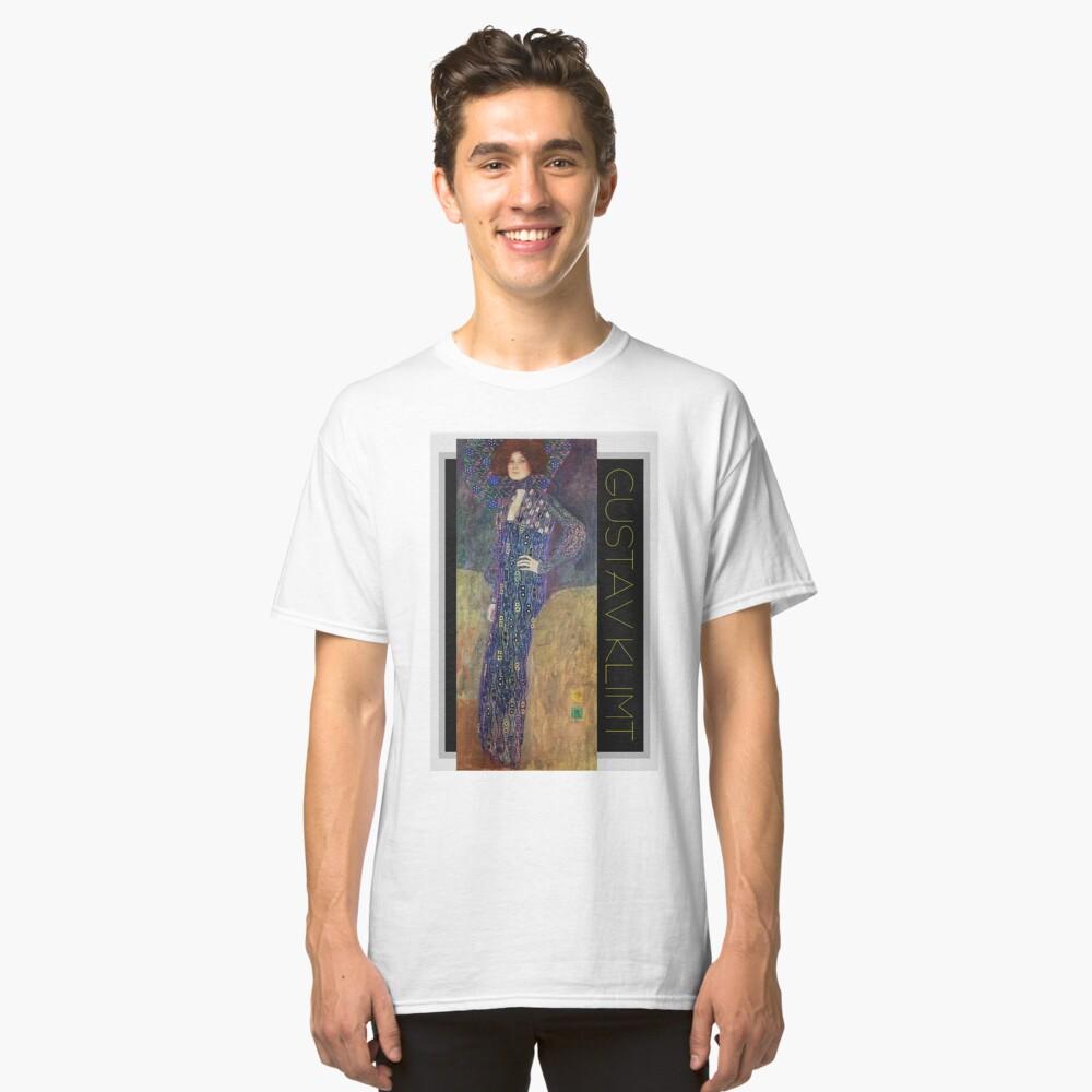 Art Nouveau Jugendstil by Gustav Klimt Classic T-Shirt