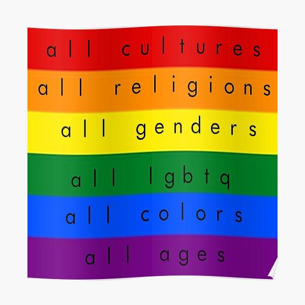 All-Inclusive LGBTQ Poster