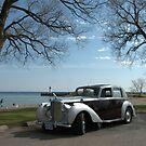 1948 Bentley... at Newcastle Beach Ontario by Larry Llewellyn