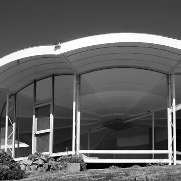 Modern Fort House, Esmond Dorney, Hobart Tasmania by janemcdougall