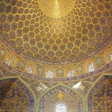 Dome of the Lotfollah Mosque, Esfahan, Iran by janemcdougall