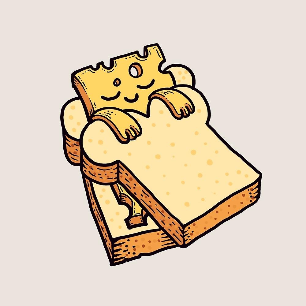 Sleepy Cheesy by fabric8