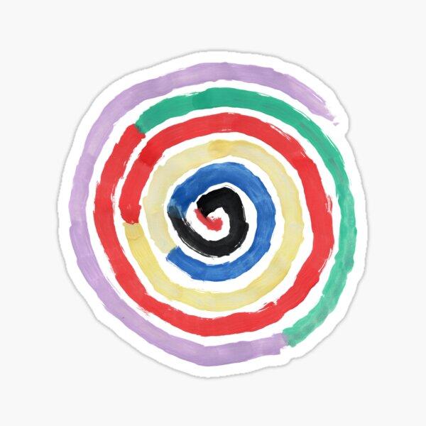 Spirale Sticker