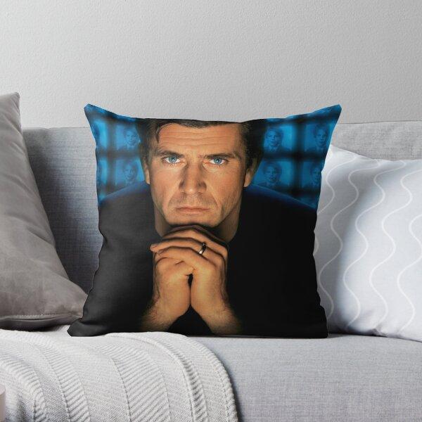 Mel Gibson Throw Pillow