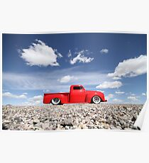 1950 Ford F1 Poster