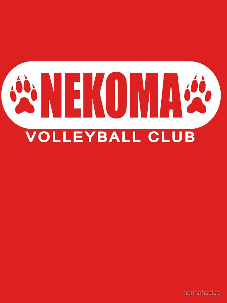 Nekoma Team Design by hannahsalsa
