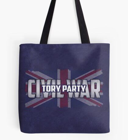 Tory Party Civil War Tote Bag