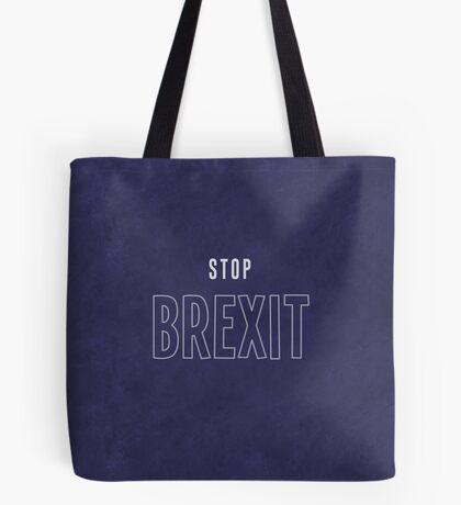 Stop Brexit Tote Bag