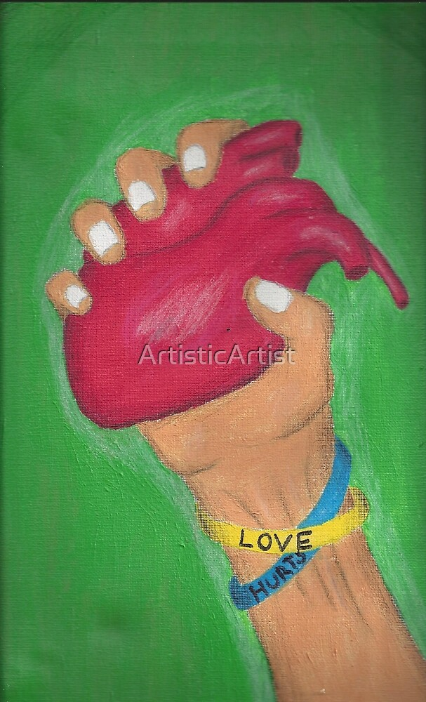 love hurts by ArtisticArtist