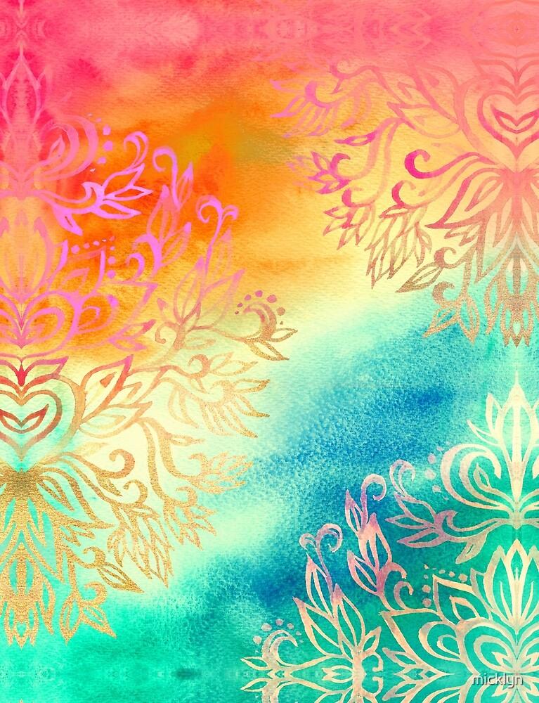 Watercolor Wonderland by micklyn